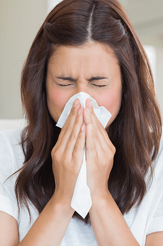Professional Suffering From Sinus Issues
