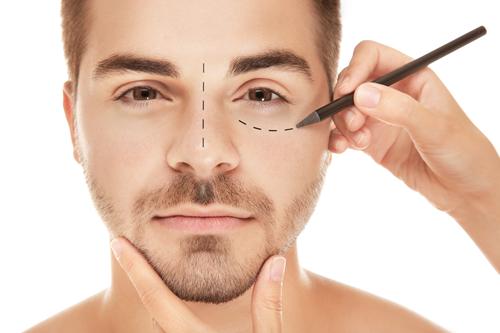 blepharoplasty or eye lid surgery and rhinoplasty