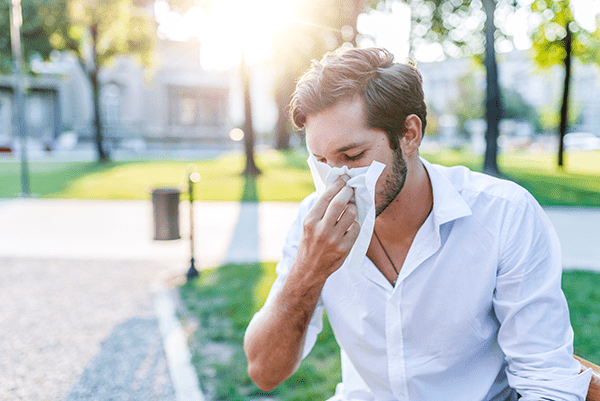 Allergies and their symptoms may also complicate sinusitis.