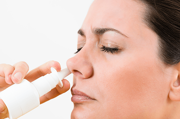 Nasal sprays are a short term solution for sinus sufferers.