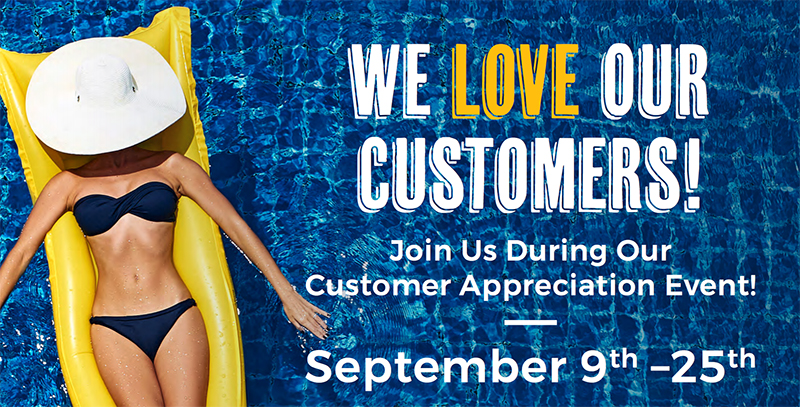 Promotions   Lake Norman Pool and Spa