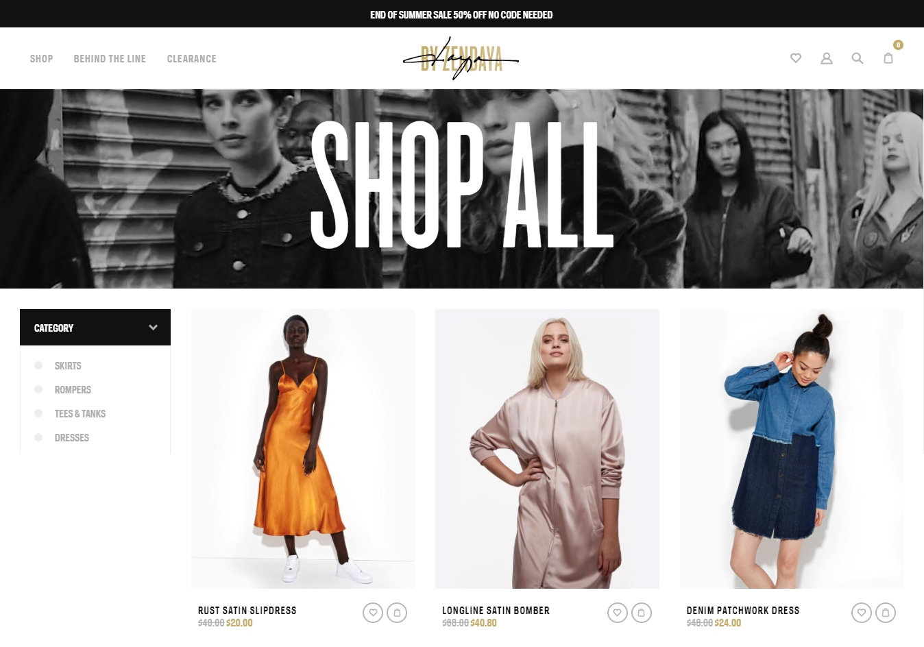 Shopify Ejemplo de tienda