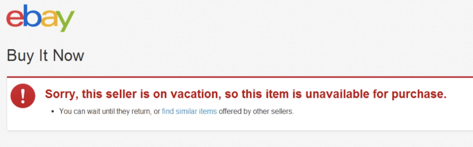 How To Put Your Ebay Store On Vacation Mode Size Ly Blog