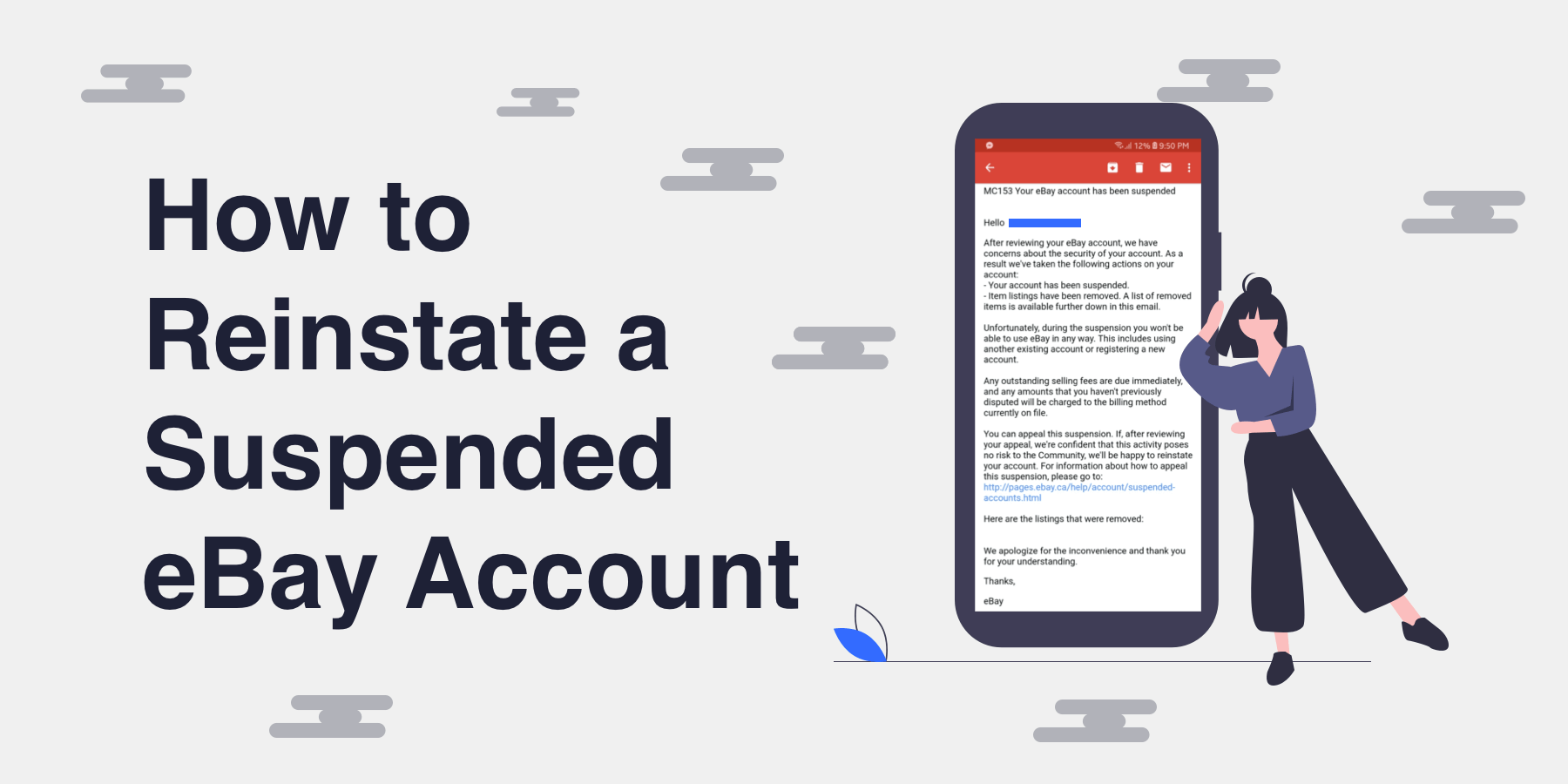 How to Reinstate a Suspended eBay Account