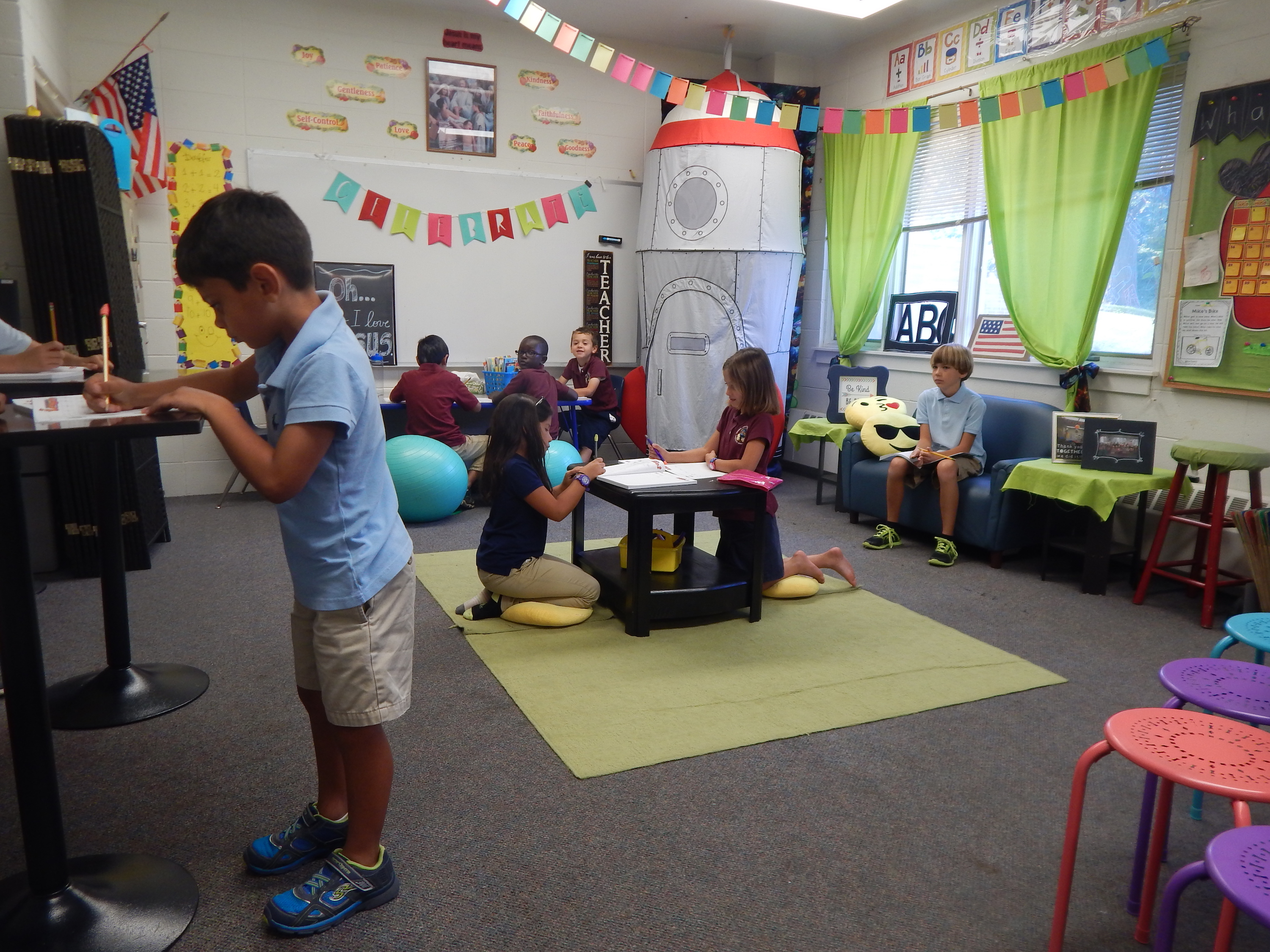 Flexible Seating Class