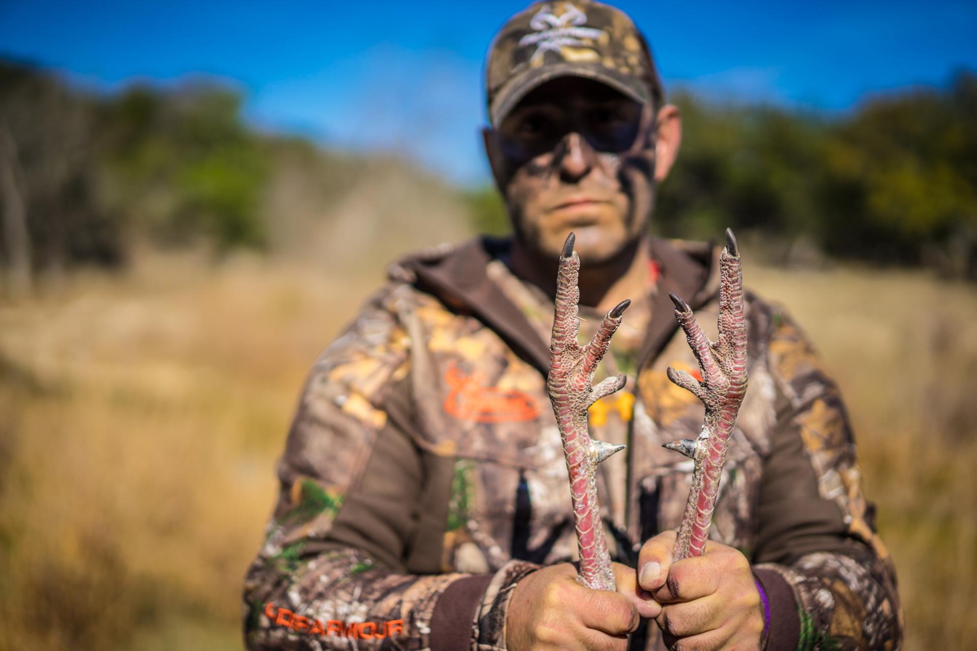 Turkey Hunter Portrait