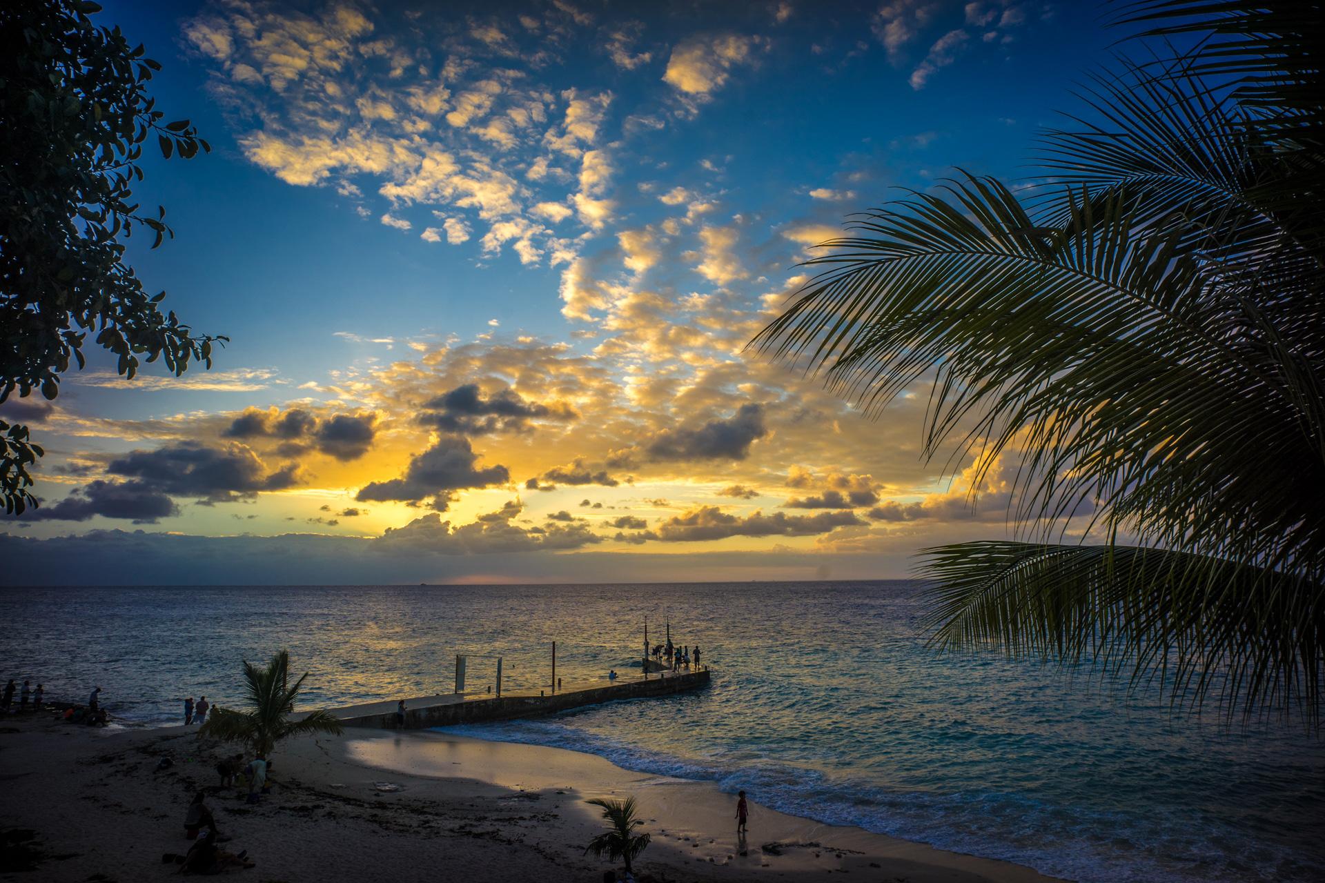 Cozumel Mexico Beach Sunset
