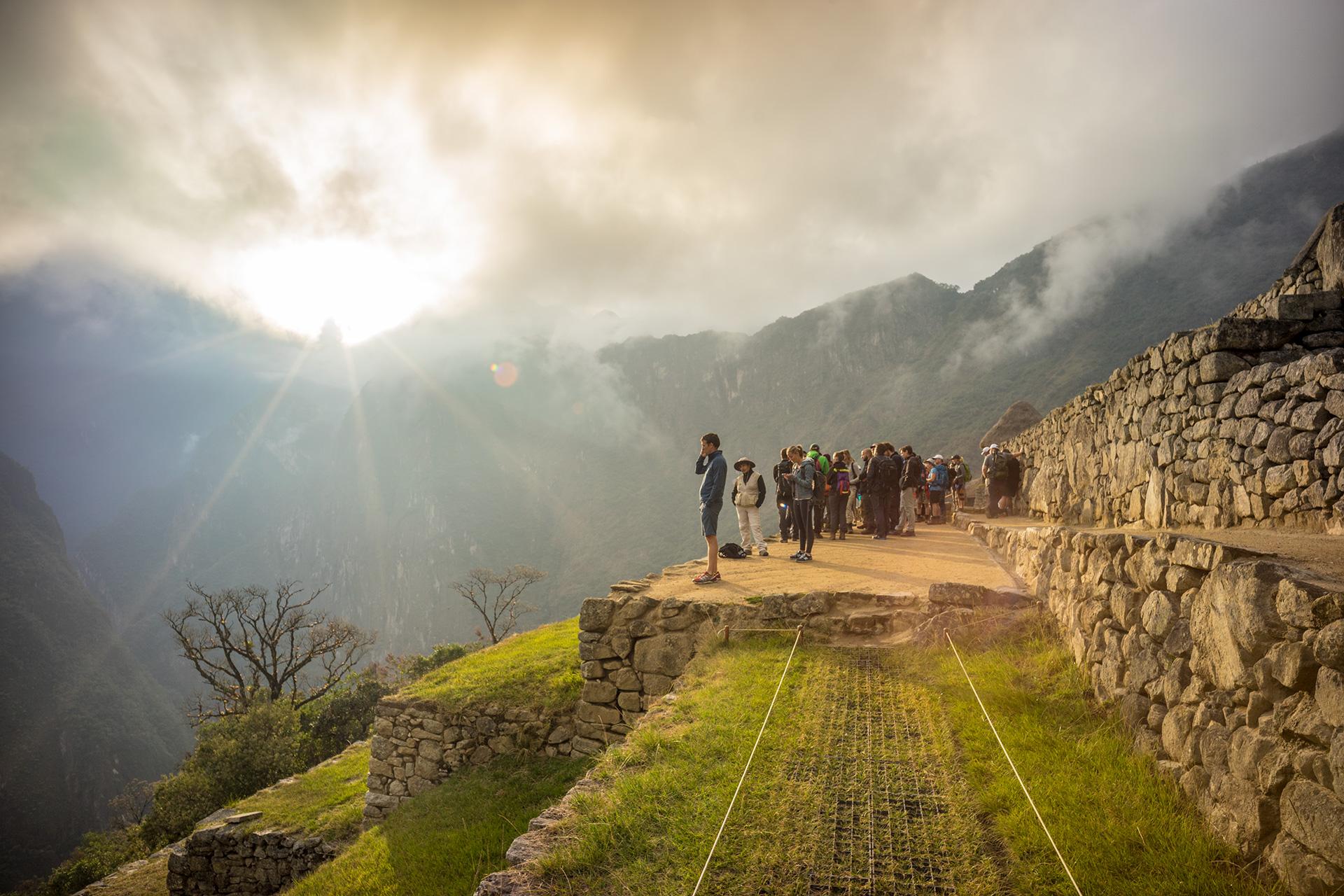 Machu Picchu Sunrise Peru