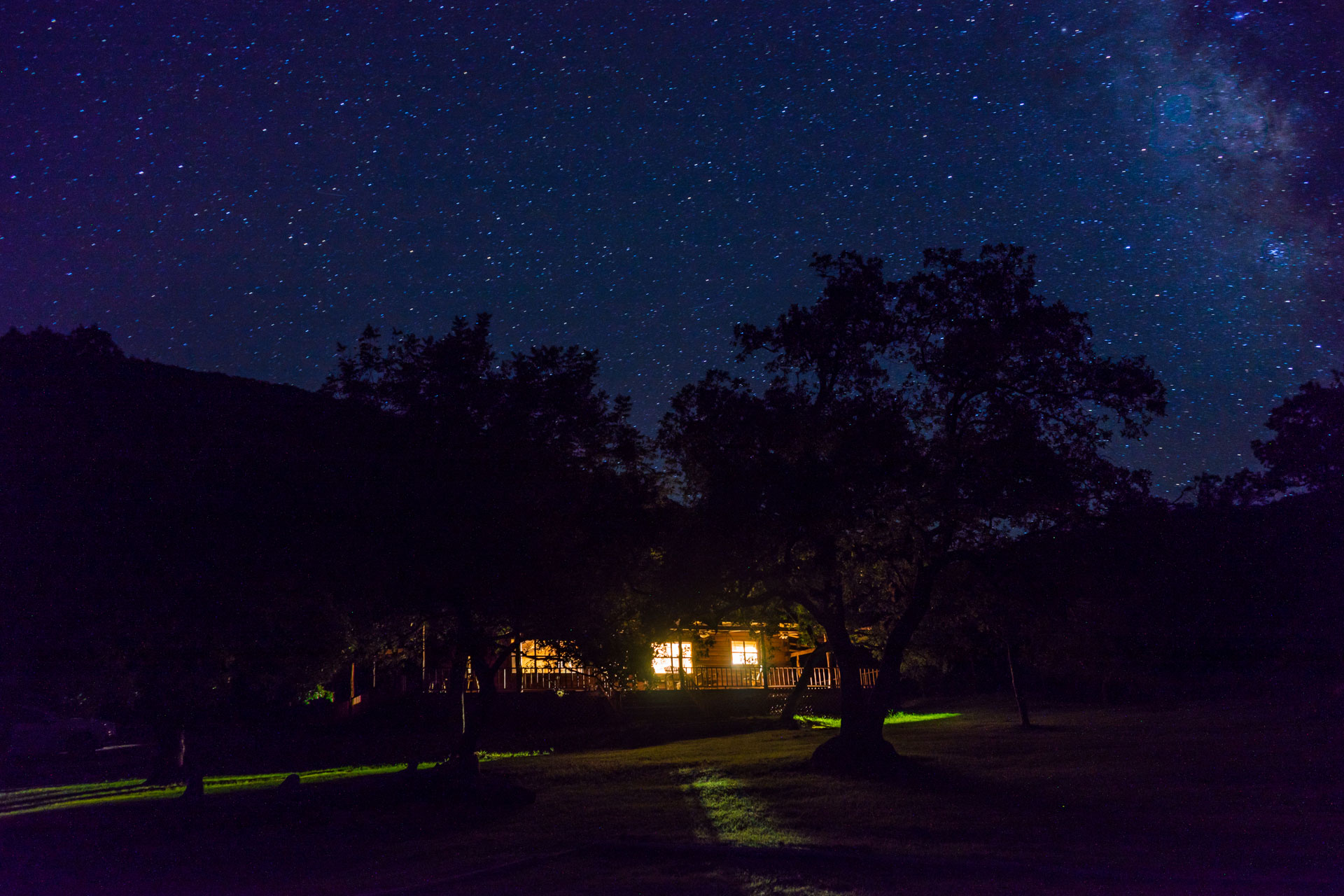 Texas Hill Country Night Stars