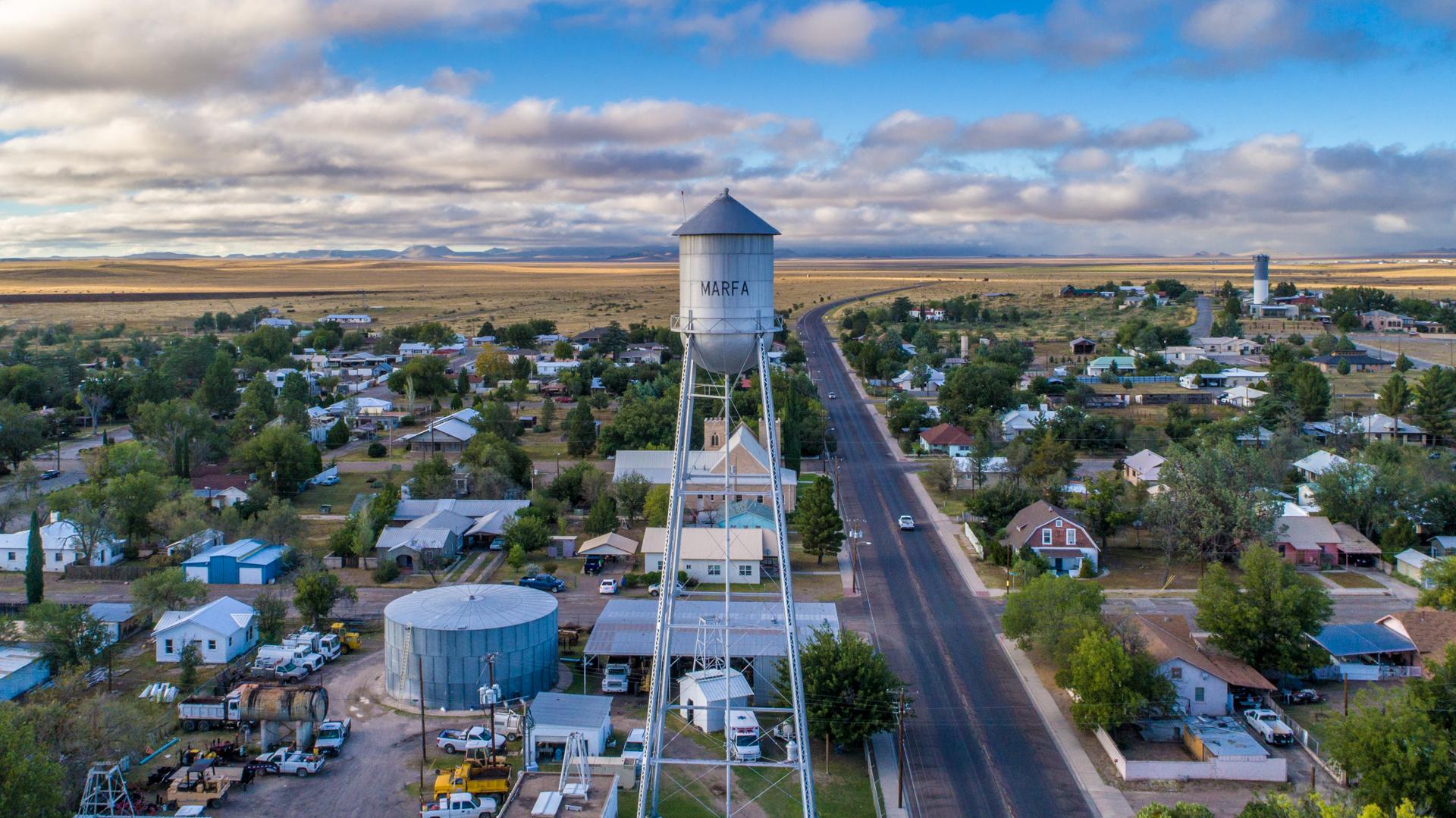 Marfa Texas Water Tower
