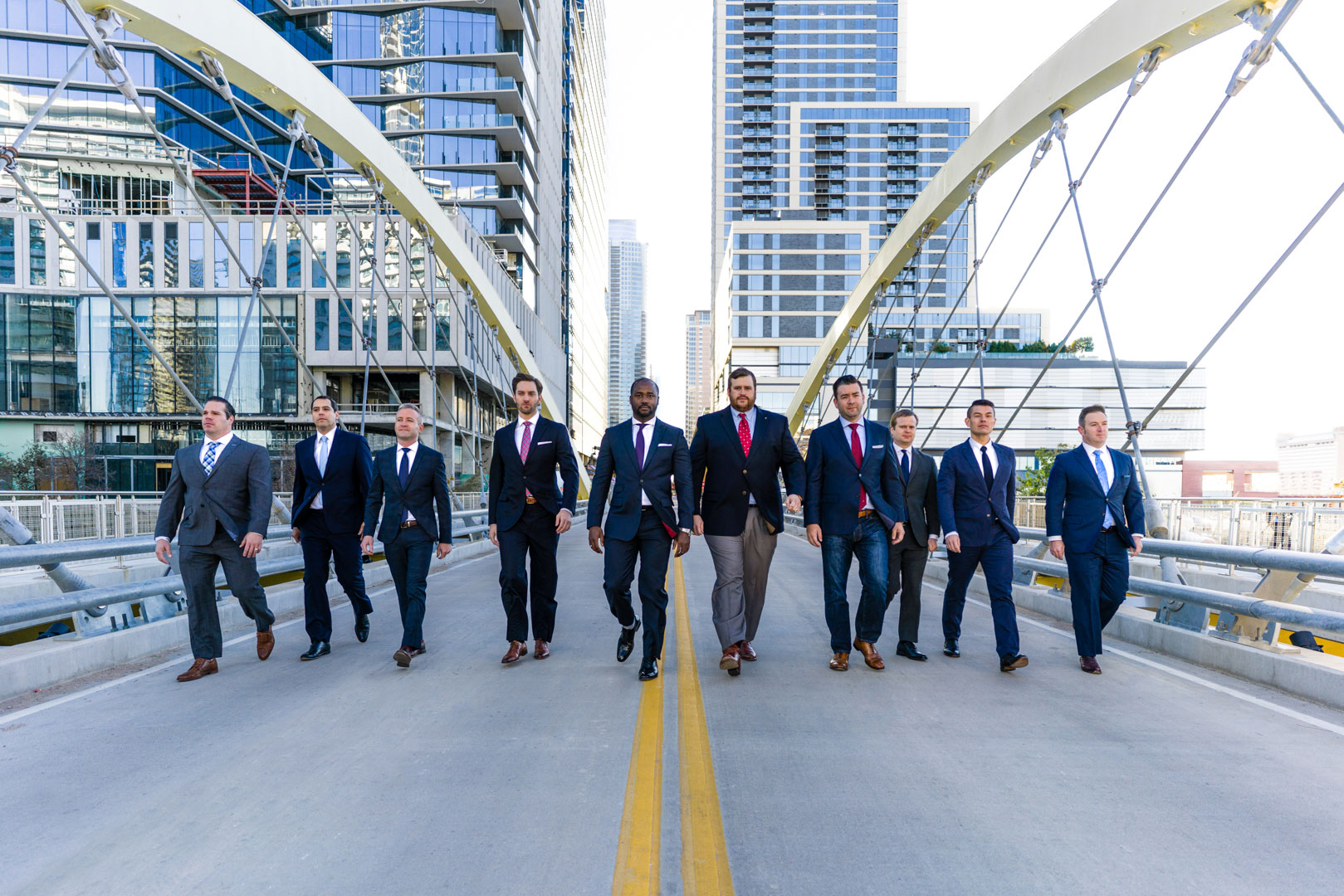 Downtown Austin Men Photography