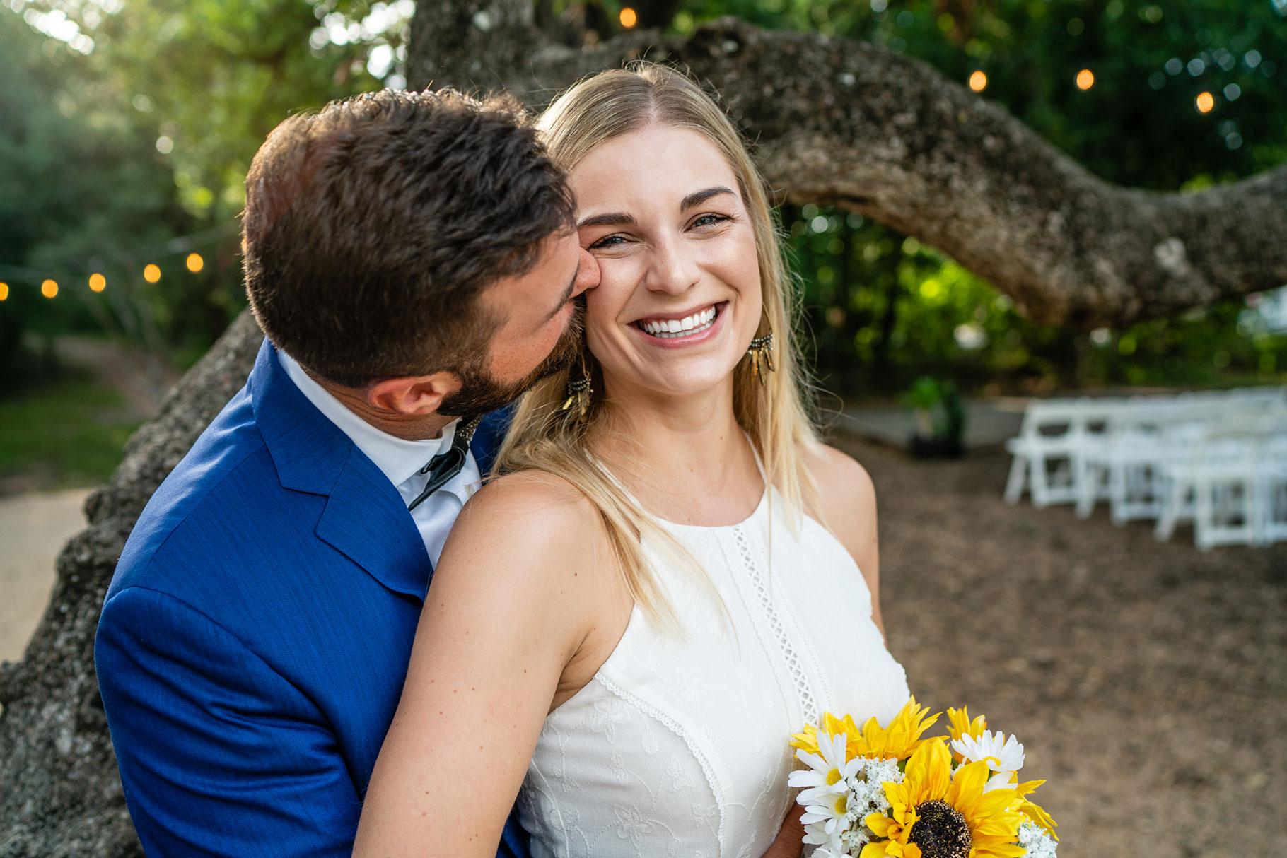 Austin Wedding Bride and Groom