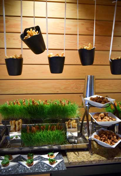 Our Bacon Garden was filled with an array of Smokey Bacon Amusements