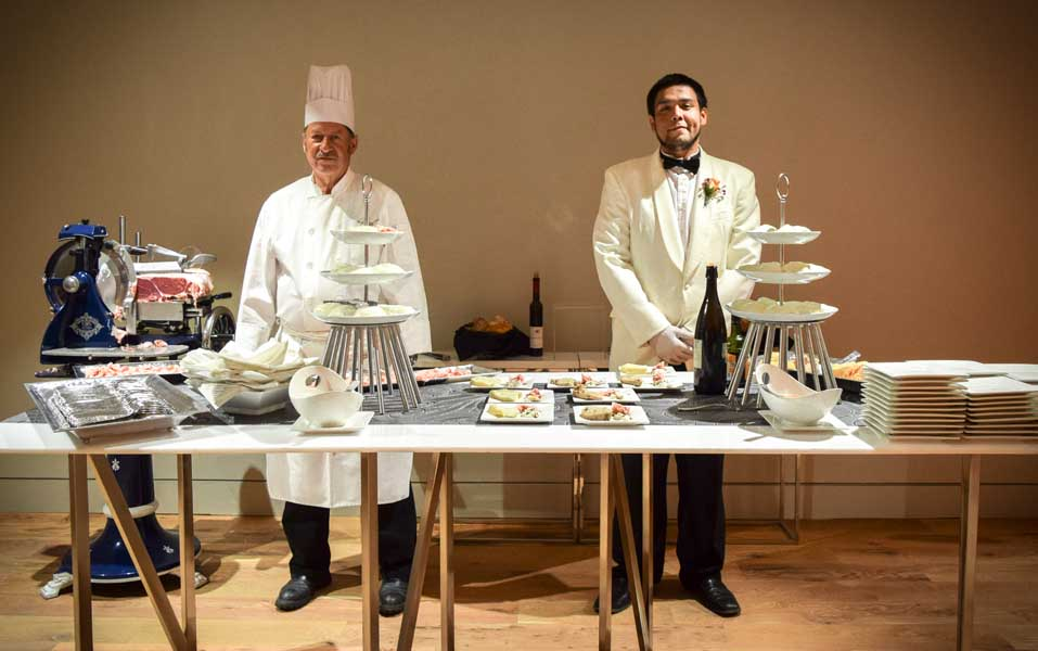 Our Cochon Et Lait station consisted of Artisan Prosciutto Di Parma