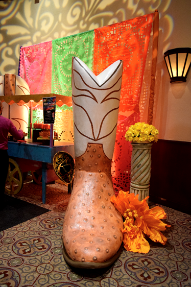 Mexican Decoration and a Boot
