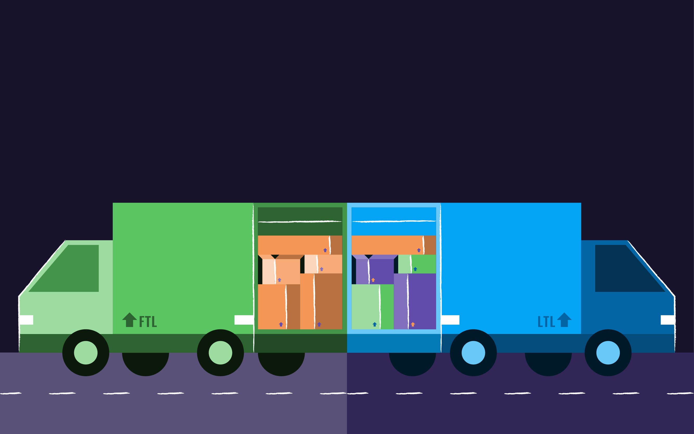 Comparing LTL & FTL Shipping | The Ultimate Guide For Your