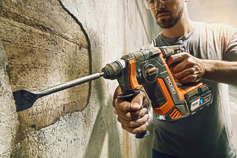 Ridgid SDS Octane Brushless Hammer Drill