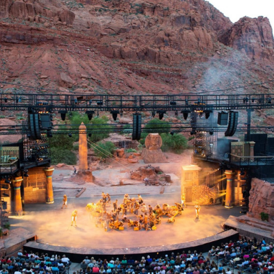 Discover an Outdoor Stage in Utah's Canyon of the Gods