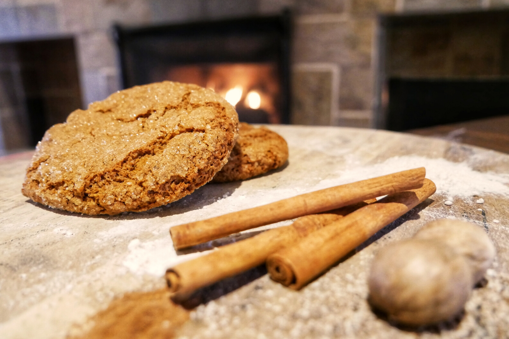 Molasses Gingersnap Cookies