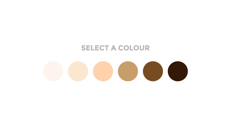 Select a colour - UI