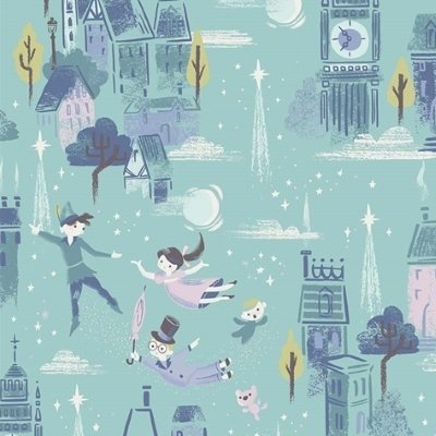 Riley Blake Fabric - Neverland - RBC6570MINT