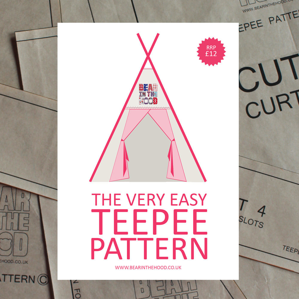 Teepee sewing pattern