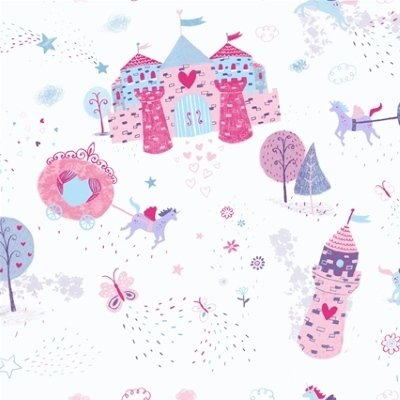 Studio e Fabric - Unicorn Kisses - Castle and Carriage