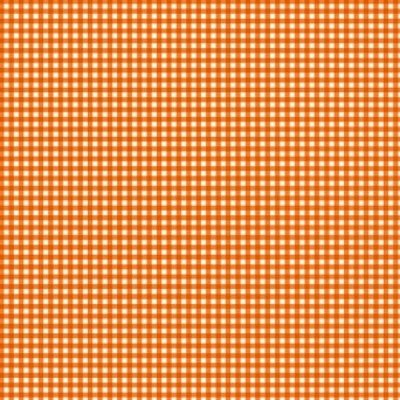 Makower UK - 920/N4 Gingham Orange