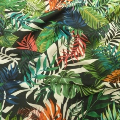 Lady McElroy - Jungle Tropics - 100% Cotton 'Marlie' Poplin Digital Print