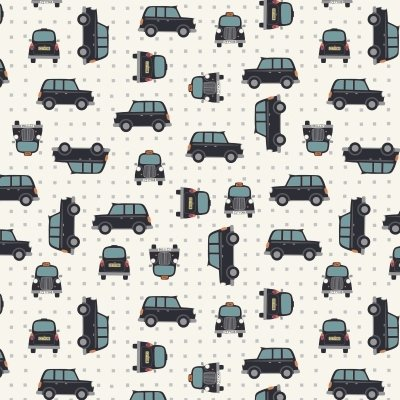 Lewis and Irene taxi fabric