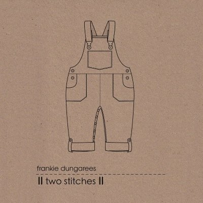 Dungaree kids sewing pattern