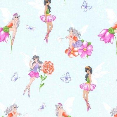 Michael Miller Fabric - Fairy Frolic - Mist