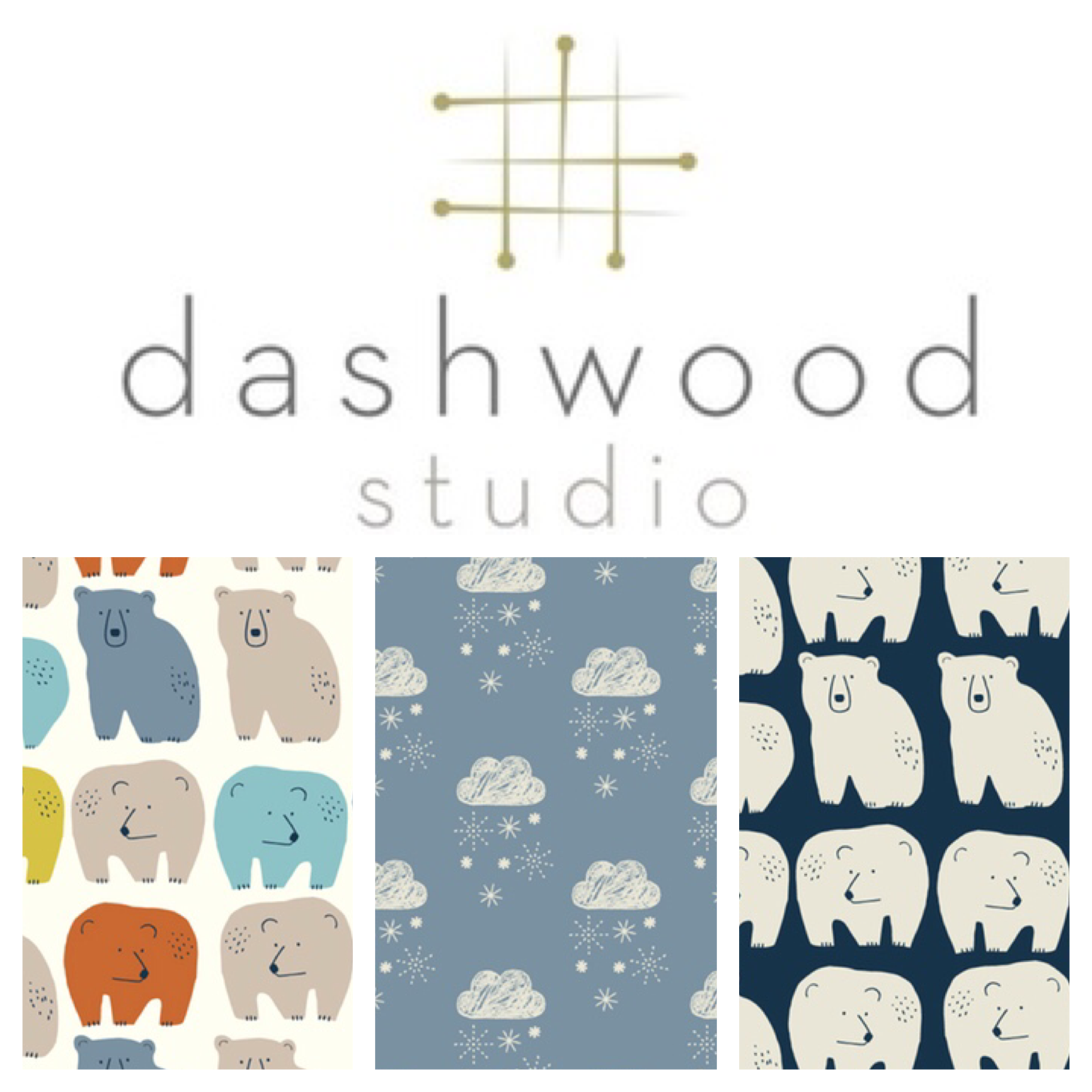 Dashwood studio fabric Laska