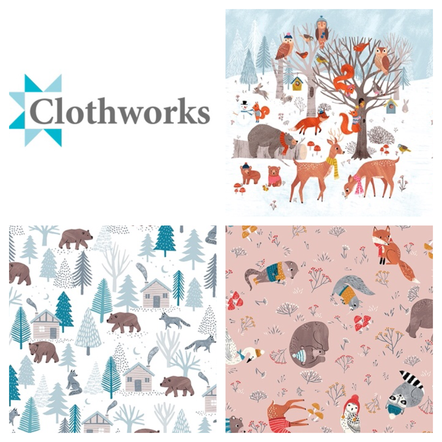 Dreaming of snow clothworks