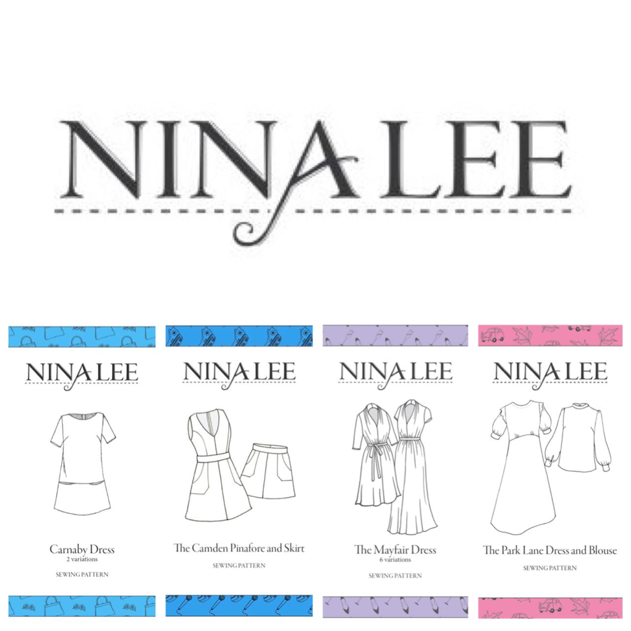 Sewing patterns Nina Lee
