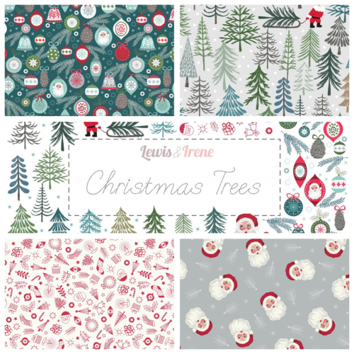 Lewis and Irene Christmas Fabrics