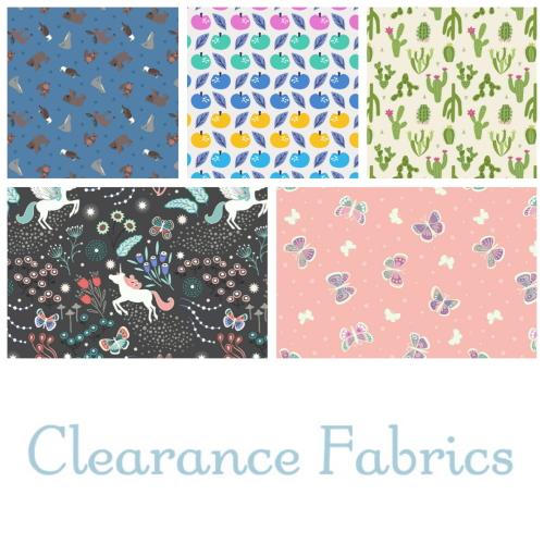Clearance fabics