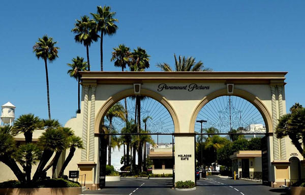 Paramount Studios Exterior View