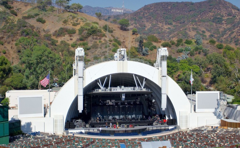 seated view of the hollywood bowl