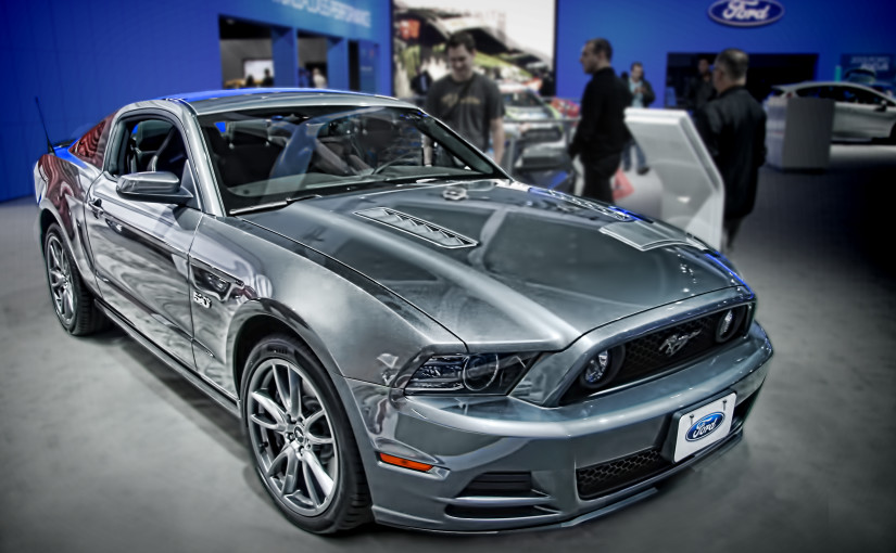 ford mustang at the la auto show