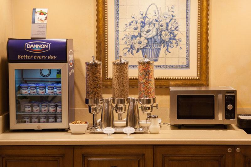 Best Western Sunset Plaza Variety of Cereals