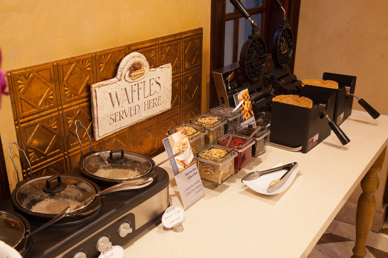 Best Western Sunset Plaza Toppings for build your own oatmeal