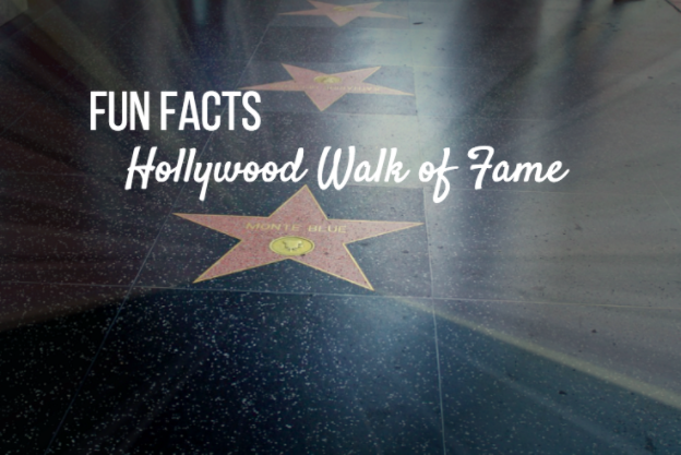 hollywood walk of fame facts