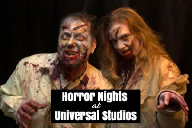 Horror Nights At Universal Studios