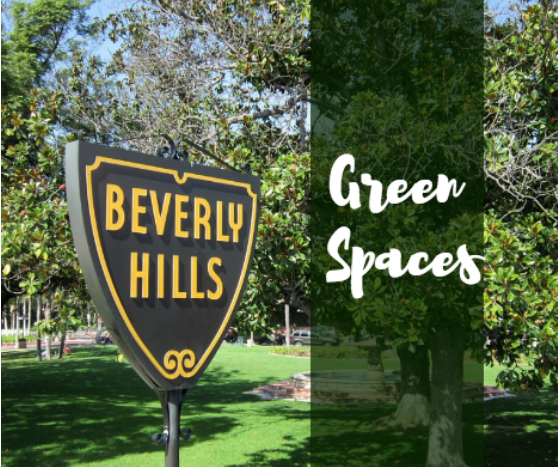 green spaces in Beverly Hills