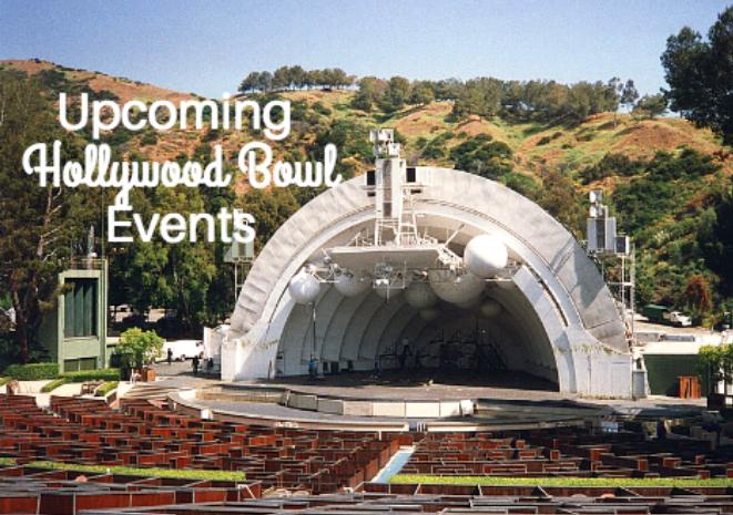 hollywood bowl upcoming events