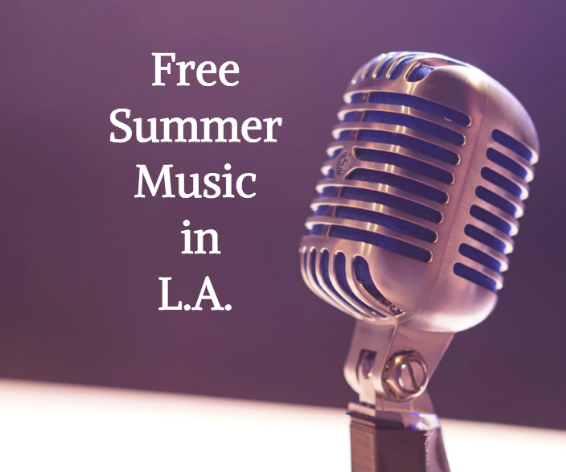 free summer music LA