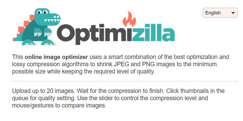 Optimizilla.com screenshot