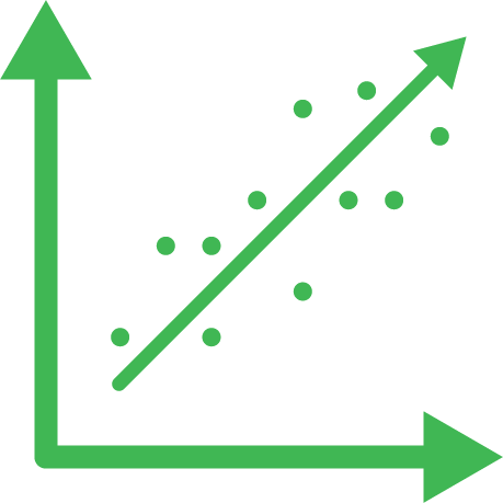 green graph icon