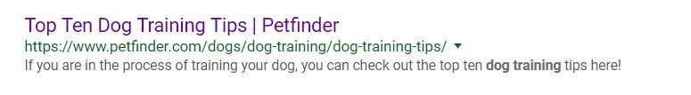 top 10 dog training tips listing